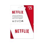 Netflix giftcard 25 euro