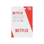 Netflix giftcard 50 euro