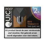 Quic pods RY4 tobacco 20 mg 2 stuks