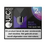 Quic pods blue fruits 20 mg 2 stuks