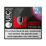 Quic pods american tobacco 20 mg 2 stuks