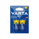 Varta Long Life C alkaline batterijen