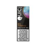 Quic e-liquid RY4 tobacco 20 mg 10 ml