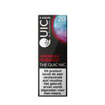 Quic e-liquid american tobacco 20 mg 10 ml