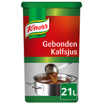 Knorr gebonden kalfsjus 21 ltr