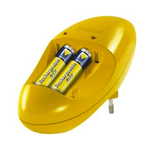Varta pocket charger + 4 x AA 2500 mAh