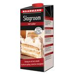Naarmann slagroom met suiker 32% pak met schroefdop 1 liter