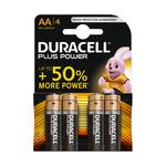 Duracell plus AA (MN 1500) LR 6 penlite blister 4 stuks