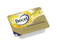 Becel met roomboter portie 10 gr