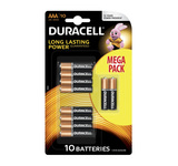 Duracell basic alkaline AAA/LR03 10-pack