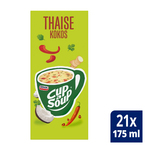 Unox Cup-a-Soup Tom Kha Kai 21 x 175 ml