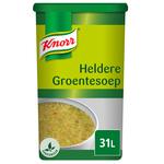 Knorr heldere groentesoep 31ltr.