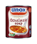 Unox stevige goulashsoep blik 0.8ltr. a6