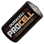 Duracell pc1300 staaf batterij dik