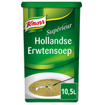 Knorr superieur hollandse erwtensoep 10.5ltr.