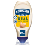 Hellmann's squeeze real mayonaise fles 430 ml