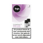 Logic compact pods berry mint 6mg 2 stuks