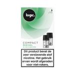 Logic compact pods menthol 6mg 2 stuks