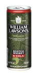 William Lawsons whisky cola blik 25 cl