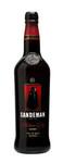 Sandeman sherry medium dry 0.75 liter