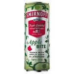 Smirnoff & apple bite blik 25 cl