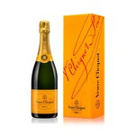 Veuve Clicquot jaune brut champagne 0.75 liter