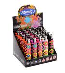 Atomic aansteker candy rubber bloemen