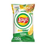 Lay's international restaurant flavour subway teriyaki 150 gr