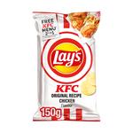 Lay's international restaurant flavour KCF original recipe chicken 150 gr