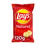 Lay's chips naturel 120 gr