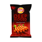 Lay's chips deep ridged american bbq 147 gr