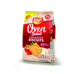 Lay's oven crunchy biscuits tomato & spring onion 90 gr