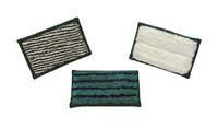 Greenspeed minipad wit/groen streep zacht 9x16 cm