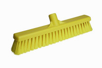 Vikan zachte veger geel 40 cm