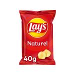 Lay's chips naturel 40 gr