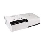 Servet 33x33cm 2 laags 1/4 vouw wit 250 stuks