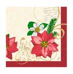 Dunilin servet christmas flower 40 x 40 cm