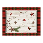 Dunicel placemats 30 x 40 cm naturally christmas
