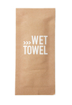 Duni wet towel cleansing 180 x 200 mm fingerfood kraft