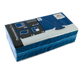 Servet tissue blauw 40 cm