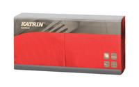 Katrin servet rood 2 laags 33 cm