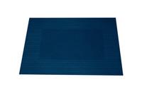 Placemat papier gestreept blauw 30 x 42 cm