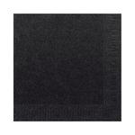 Duni servet zwart 33cm 2lgs 16 x 125 stuks