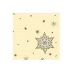 Dunilin servet glittering strars cream 40 x 40 cm