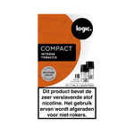 Logic compact pods intense tobacco 18 mg 2 stuks