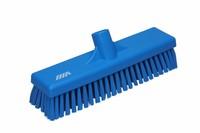 Vikan vloerschrobber hard blauw 30cm.