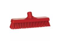 Vikan vloerschrobber hard rood 30cm