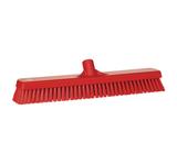 Vikan vloerschrobber hard rood 47cm