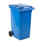 Mini container blauw 240ltr