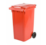 Mini container rood 240ltr